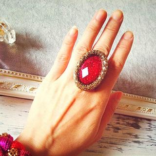 レッドストーンの指輪(リング(指輪))