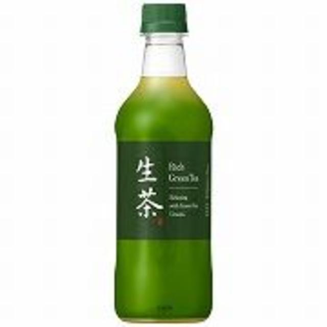 キリン 生茶 ペット 525ml x24 食品/飲料/酒の飲料(茶)の商品写真