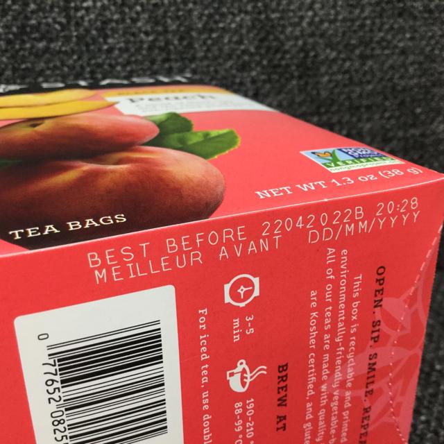STASH スタッシュ★ピーチ★紅茶 食品/飲料/酒の飲料(茶)の商品写真