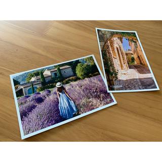 ロクシタン(L'OCCITANE)の非売品 ロクシタン ポストカード(写真/ポストカード)