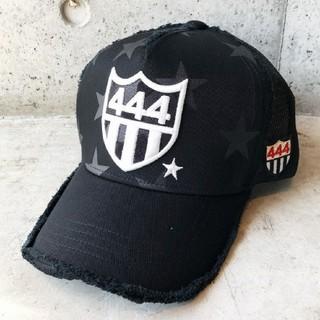 ヨシノリコタケ(YOSHINORI KOTAKE)のヨシノリコタケ444スターメッシュキャップ黒(キャップ)