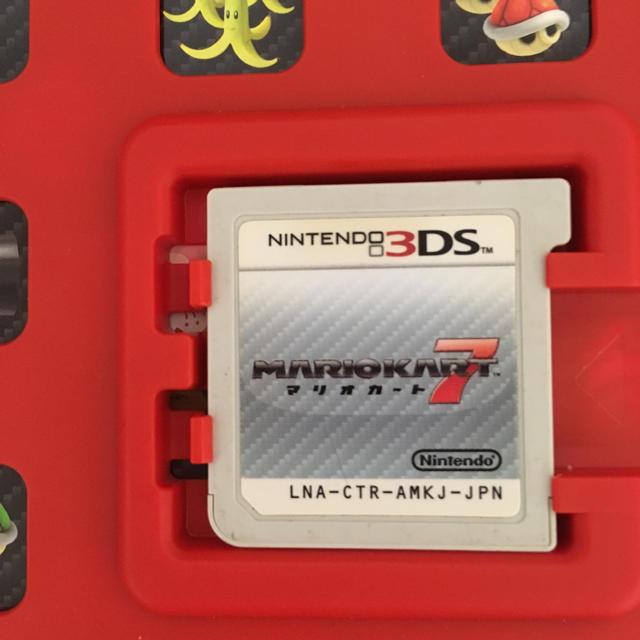 ニンテンドー3DS(ニンテンドー3DS)の3DS マリオカート7  マロン様 エンタメ/ホビーのゲームソフト/ゲーム機本体(家庭用ゲームソフト)の商品写真
