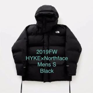 ハイク(HYKE)のHYKE NorthFace Big Down Jacket  Mens/S 黒(ダウンジャケット)