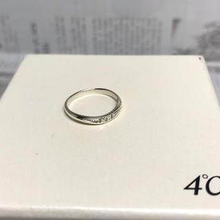 スタージュエリー(STAR JEWELRY)のスタージュエリー ダイヤ 0.01ct ホワイトゴールド K10WG リング (リング(指輪))