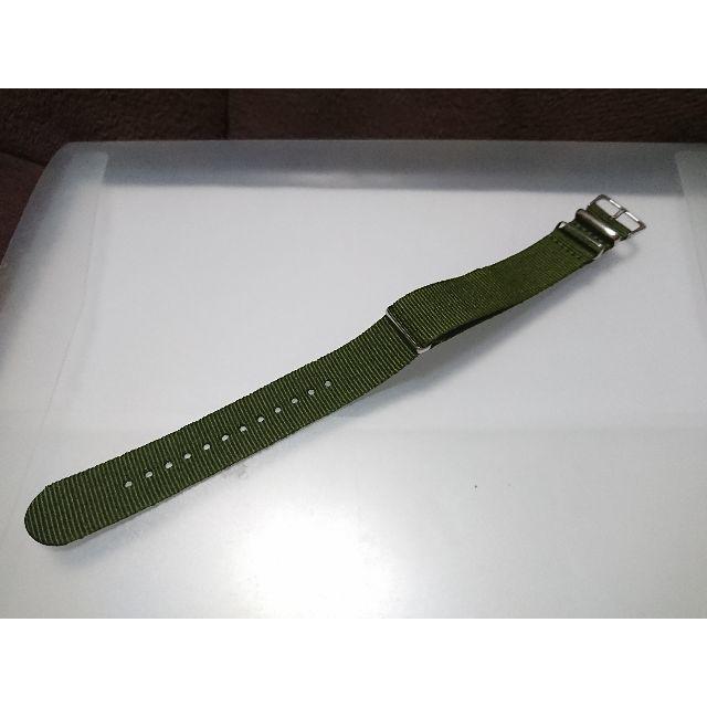 新品 腕時計 ベルト NATO 20mm ミリタリーカーキ ナイロンの通販 by コメントする時はプロフ必読お願いします|ラクマ
