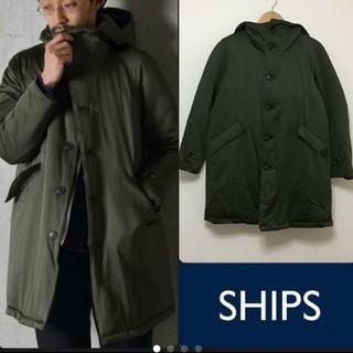 シップス(SHIPS)の別注・限定 SHIPS × STAMMBAUM:59400円 ダウンコート(モッズコート)