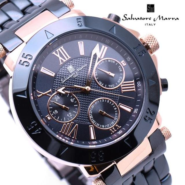 Salvatore Marra - サルバトーレマーラ 腕時計 メンズ ダーク ネイビー ブランド 時計の通販 by おもち's shop|サルバトーレマーラならラクマ
