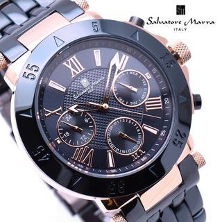 Salvatore Marra - サルバトーレマーラ 腕時計 メンズ ダーク ネイビー ブランド 時計