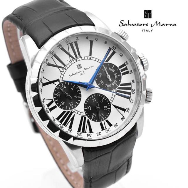 Salvatore Marra - サルバトーレマーラ 腕時計 メンズ 人気 モデル ホワイト ブランドの通販 by おもち's shop|サルバトーレマーラならラクマ