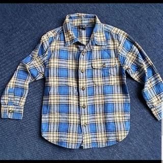 ベビーギャップ(babyGAP)のベビーギャップチェックシャツ(ブラウス)