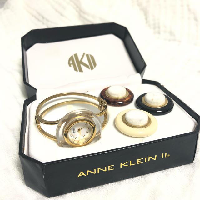 ANNE KLEIN - ANNE KLEIN Vessel Watch アンクライン ベゼルの通販 by A shop|アンクラインならラクマ
