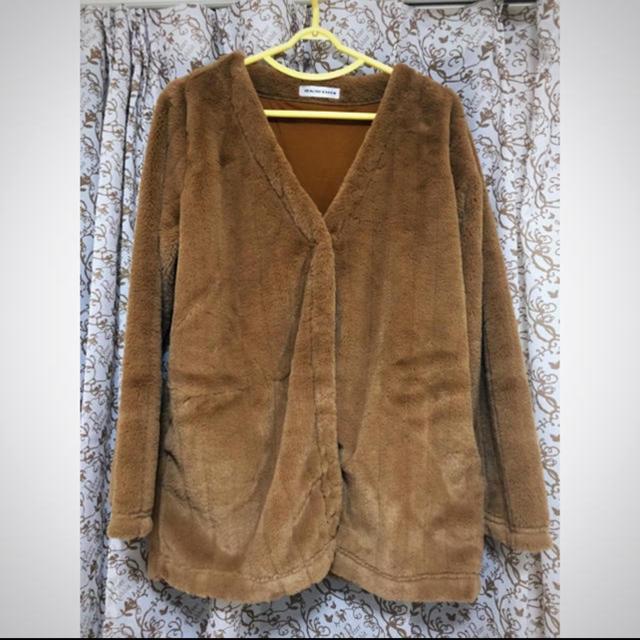しまむら(シマムラ)のエコファーコート レディースのジャケット/アウター(毛皮/ファーコート)の商品写真