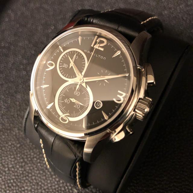 Hamilton - ハミルトンジャズマスター クロノグラフ 腕時計 H32612735の通販 by field's   shop|ハミルトンならラクマ