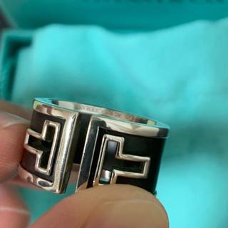 ティファニー(Tiffany & Co.)の13万 EXILE 岩田剛典着用 ティファニー カットアウト リング 指輪(リング(指輪))