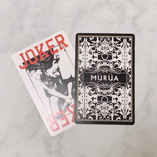 ムルーア(MURUA)の【MURUA】非売品/トランプ(トランプ/UNO)