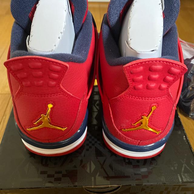 NIKE(ナイキ)のエアジョーダン4 ジムレッド 28cm メンズの靴/シューズ(スニーカー)の商品写真