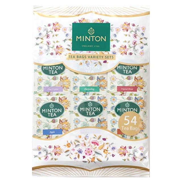 MINTON ティーバッグ バラエティパック 54P 食品/飲料/酒の飲料(茶)の商品写真