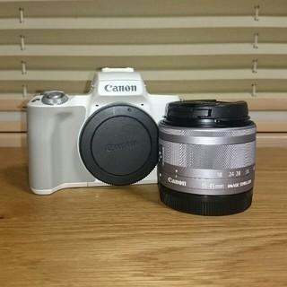 Canon - Canon EOS Kiss M、EF-M15-45mm