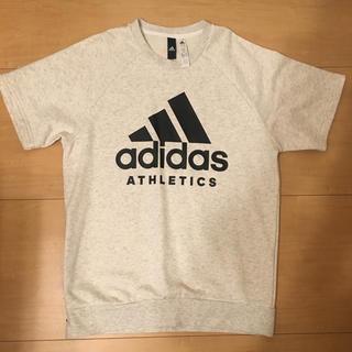 アディダス(adidas)の半袖スウェットT(トレーナー/スウェット)