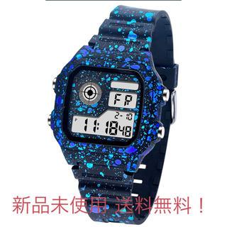 デジタル腕時計 メンズ 男子 防水腕時計 (腕時計(デジタル))