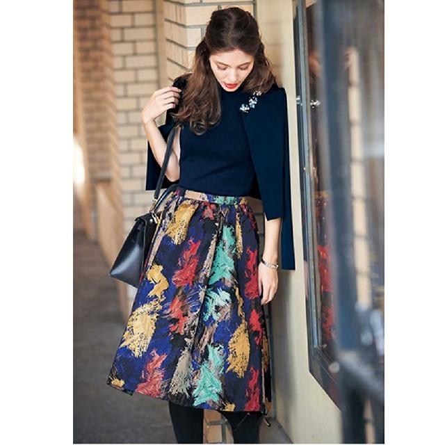 Chesty(チェスティ)の完売 chesty フラワースカート レディースのスカート(ひざ丈スカート)の商品写真