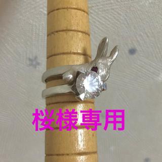 DECOvienya うさぎの指輪(リング(指輪))