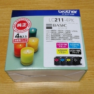 brother - brother LC211-4PK BASICシリーズ インクカートリッジ