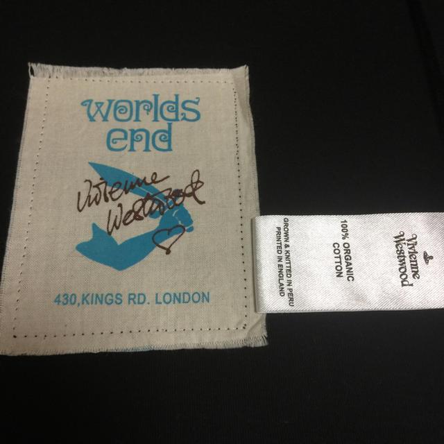 Vivienne Westwood(ヴィヴィアンウエストウッド)のworld's end クライメイトスクイグルトップ レディースのトップス(カットソー(長袖/七分))の商品写真