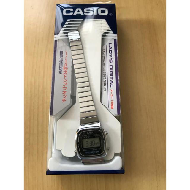 CASIO - 新品未使用 カシオスタンダード LA-670WA-1JF レディースの通販 by ピクテ@9/30までセール中!|カシオならラクマ