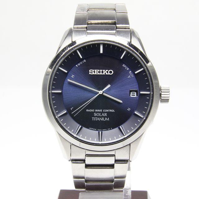 SEIKO - セイコー 7B24-0BB0 ソーラー チタン SEIKO の通販 by     むー's shop |セイコーならラクマ
