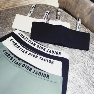 ディオール(Dior)のDior ディオール ブラジャー J'ADIOR ロゴ ブラトップ & パンツ(ブラ)