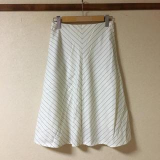 デプレ(DES PRES)の● DES PRES デプレ ロングスカート    オフホワイト  サイズ36 (ひざ丈スカート)