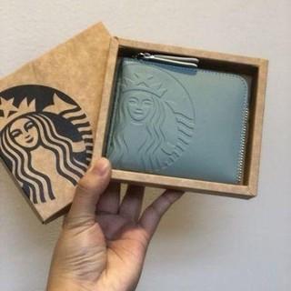 Starbucks Coffee - ●スターバックス●ラッキーウォレット●タイ限定●財布●新品未使用●希少ブルー