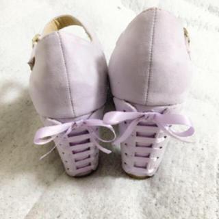 【新品タグ無し】LAGR ACE MART リボン 靴 ハイヒール(ハイヒール/パンプス)