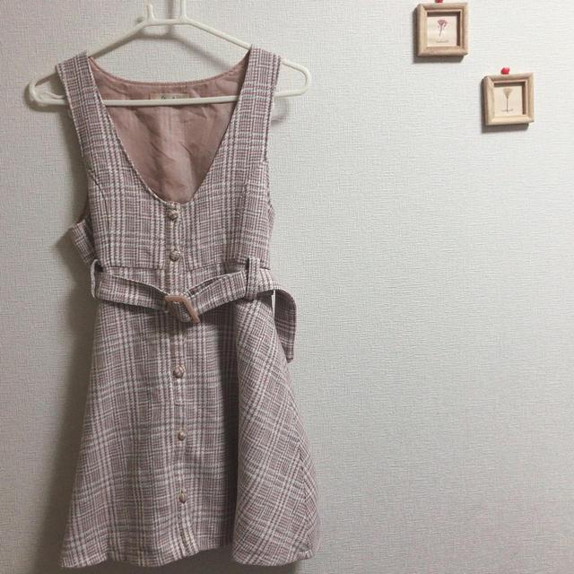 しまむら(シマムラ)のリズメロ♡ワンピース レディースのワンピース(ミニワンピース)の商品写真