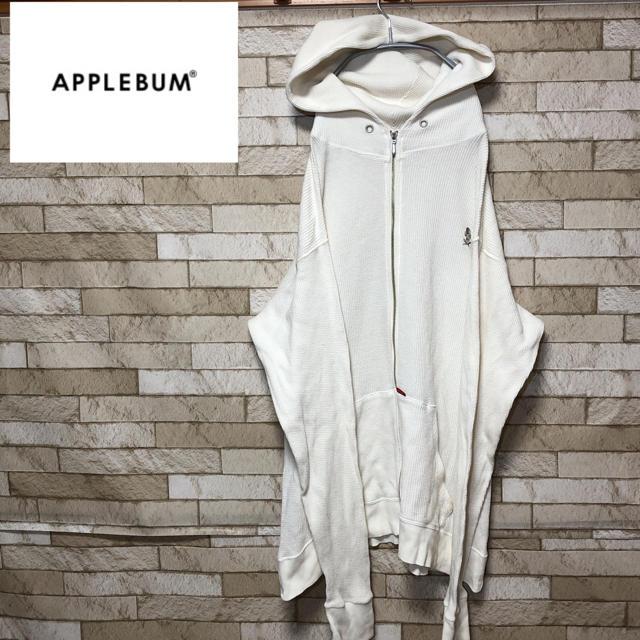 APPLEBUM(アップルバム)の【Applebum】アップルバム MASS VS CORE パーカー ホワイト メンズのトップス(パーカー)の商品写真