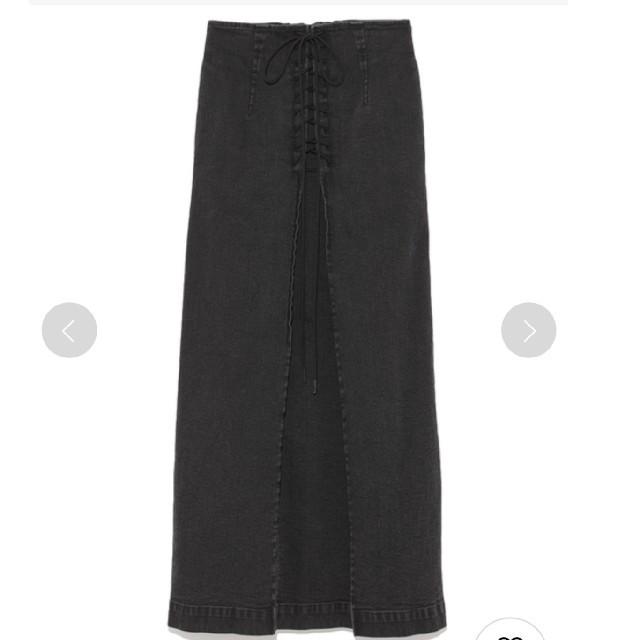 FRAY I.D(フレイアイディー)のフレイアイディー FRAY I.D レースアップタイトスカート レディースのスカート(ロングスカート)の商品写真