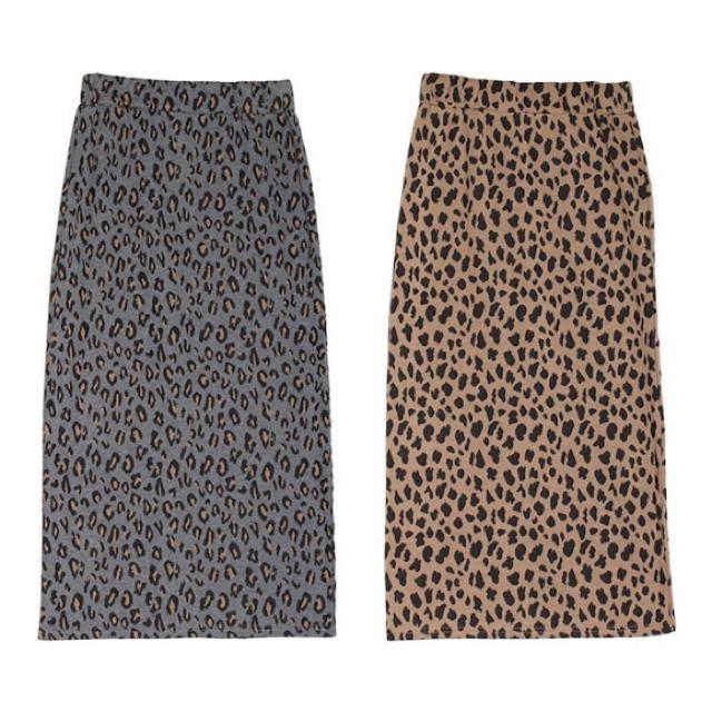 ZARA(ザラ)のレオパード スカート レディースのスカート(ロングスカート)の商品写真