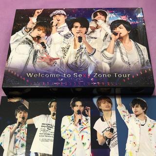 セクシー ゾーン(Sexy Zone)のWelcome to Sexy Zone Tour 初回限定盤【Blu-ray】(アイドル)