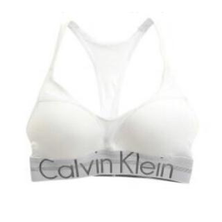 Calvin Klein - 17日まで!Calvin Klein カップ付き アンダーウェア ホワイト