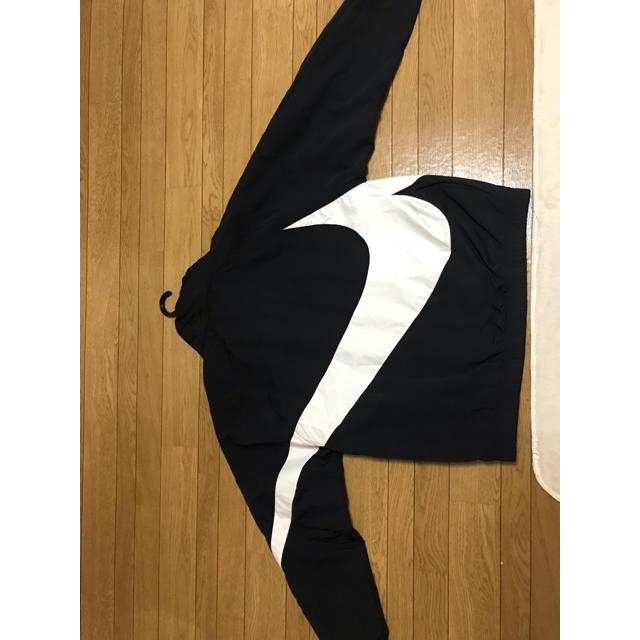 NIKE(ナイキ)のNIKE ナイキ ビッグスウォッシュ アノラックナイロンジャケット メンズのジャケット/アウター(ナイロンジャケット)の商品写真