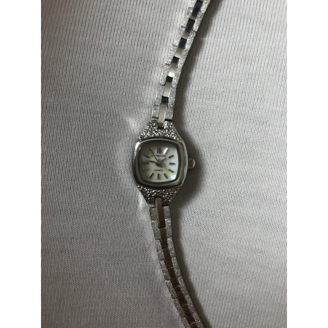 華奢 腕時計 レディース 白蝶貝 美品の通販 by ぽっぽ|ラクマ