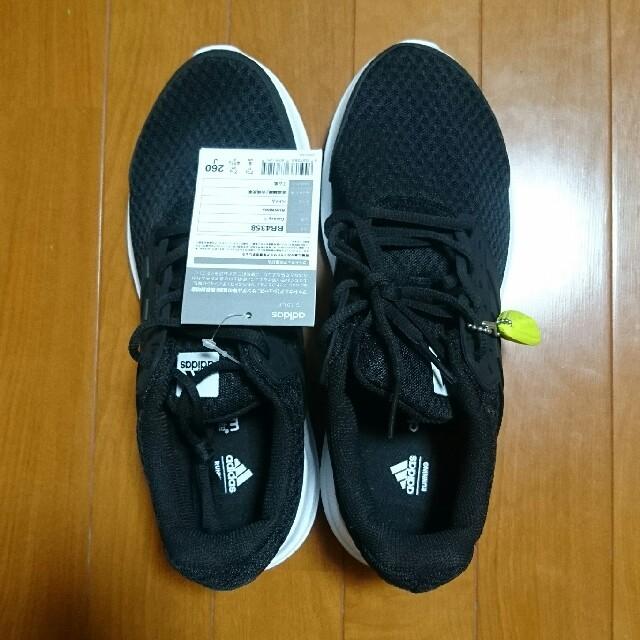 adidas(アディダス)の新品 アディダス スニーカー ブラック 26㎝ メンズの靴/シューズ(スニーカー)の商品写真