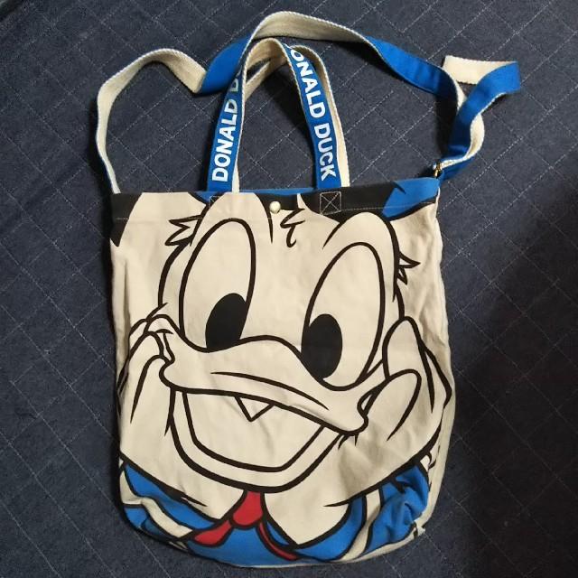 Disney(ディズニー)のDisney ドナルドダック トートバッグ ディズニー エンタメ/ホビーのおもちゃ/ぬいぐるみ(キャラクターグッズ)の商品写真