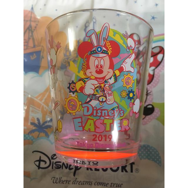 Disney(ディズニー)のディズニーリゾート限定 イースター 2019 スーベニア カップ インテリア/住まい/日用品のキッチン/食器(グラス/カップ)の商品写真