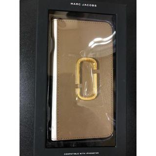 マークジェイコブス(MARC JACOBS)のマークジェイコブス  iPhoneXR手帳型携帯ケース(iPhoneケース)
