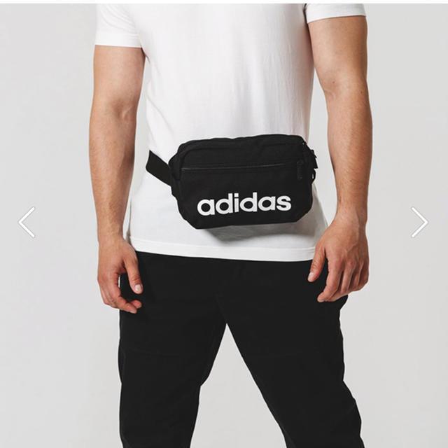adidas(アディダス)のアディダス リニア ウエストポーチ レディース メンズ 送料無料  メンズのバッグ(ウエストポーチ)の商品写真