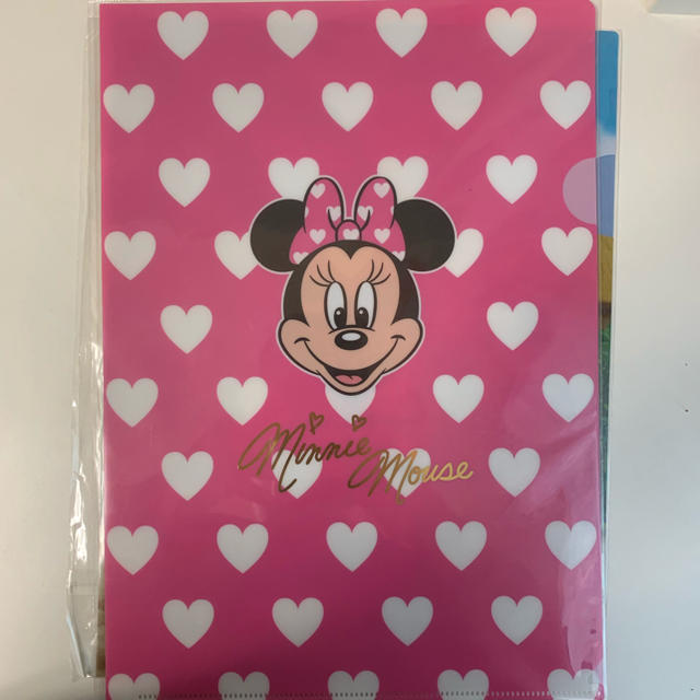 Disney(ディズニー)のディズニー クリアファイルA4 2枚セット エンタメ/ホビーのアニメグッズ(クリアファイル)の商品写真