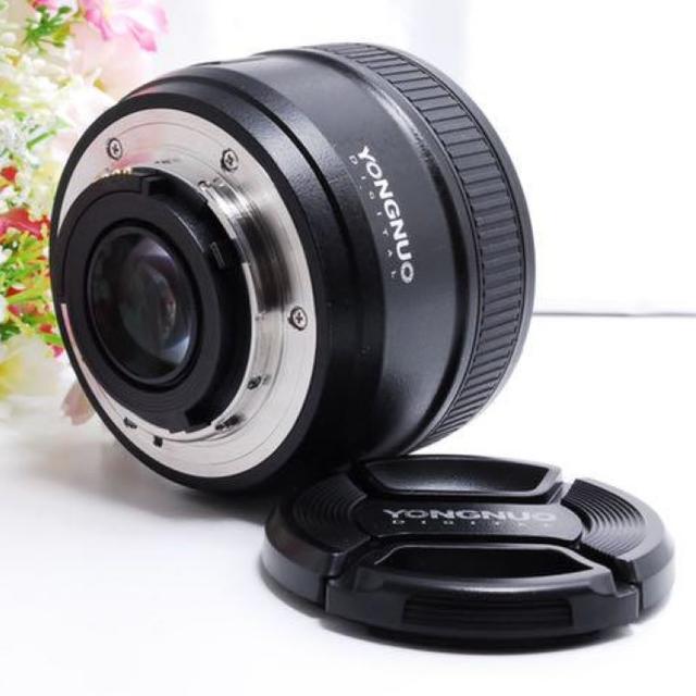 【フルサイズ対応!! 】Nikon用 50mm/F1.8 単焦点レンズ スマホ/家電/カメラのカメラ(レンズ(単焦点))の商品写真
