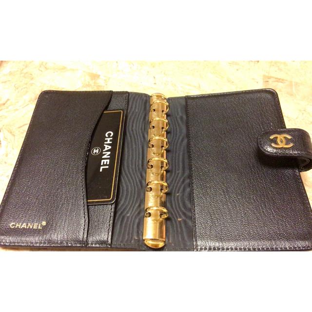 CHANEL(シャネル)の手帳  CHANEL 本物 正規ブティックシール レディースのファッション小物(財布)の商品写真